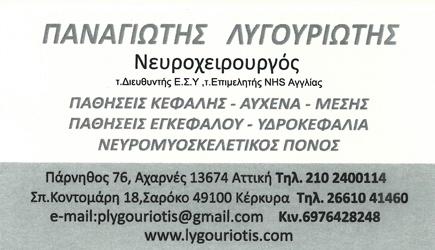ΛΥΓΟΥΡΙΩΤΗΣ ΠΑΝΑΓΙΩΤΗΣ